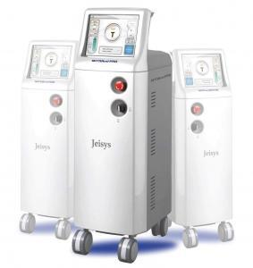 Intracel RF microneedle wrinkle removal device